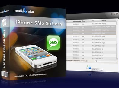 iPhone SMS Sichern for Mac